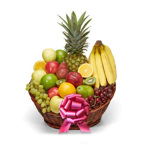 same day administrative assistants day fruit gift basket delivery by send flowers