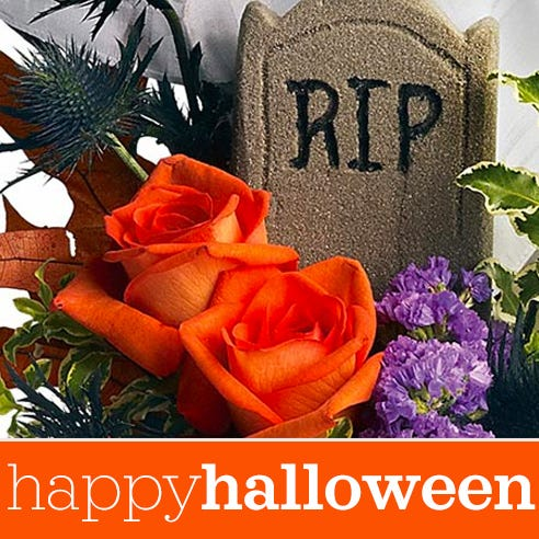 cheap halloween gift delivery same day, a cheap Halloween bouquet florist designed