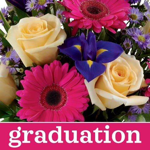 Cheapest graduation flowers bouquet, graduation best value flowers delivery