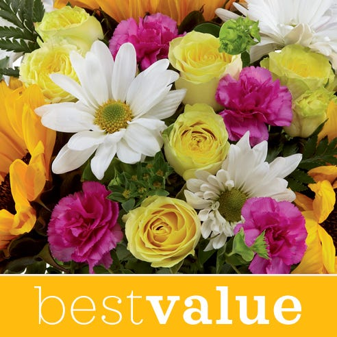 Best value get well soon and get better soon flowers bouquet at Send Flowers