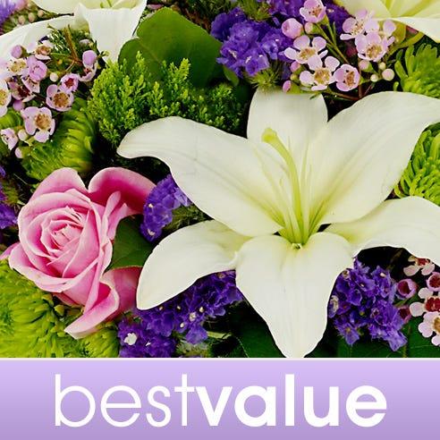 Best value florist designer Mother's Day flowers bouquet at Send Flowers
