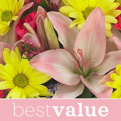 Best value florist designer bouquet new baby girl flower bouquet