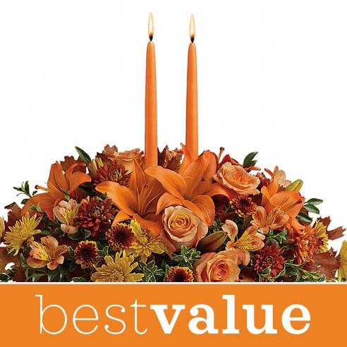 cheapest thanksgiving flowers centerpieces