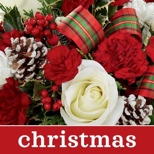Cheapest christmas flower bouquet