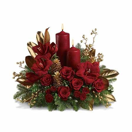 Send flowers has cheap flowers and free flower delivery for Christmas