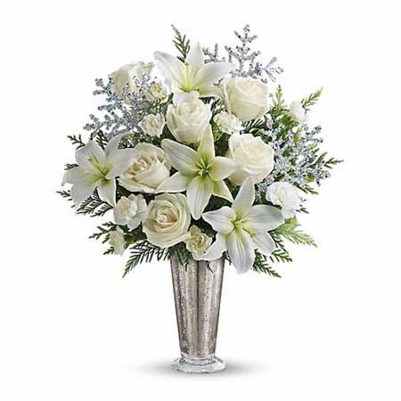 11 Christmas Flower Arrangements Christmas Flower Ideas