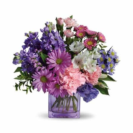 Cheap flowers online and purple flowers for mother's day bouquets