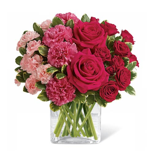 Pink roses for mother's flower delivery at send flowers, cheap pink roses delivery