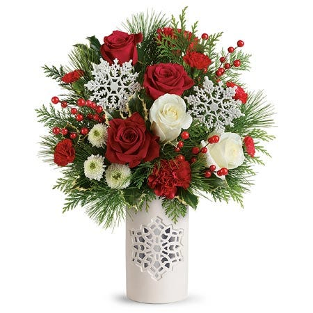 Christmas Flurries Bouquet