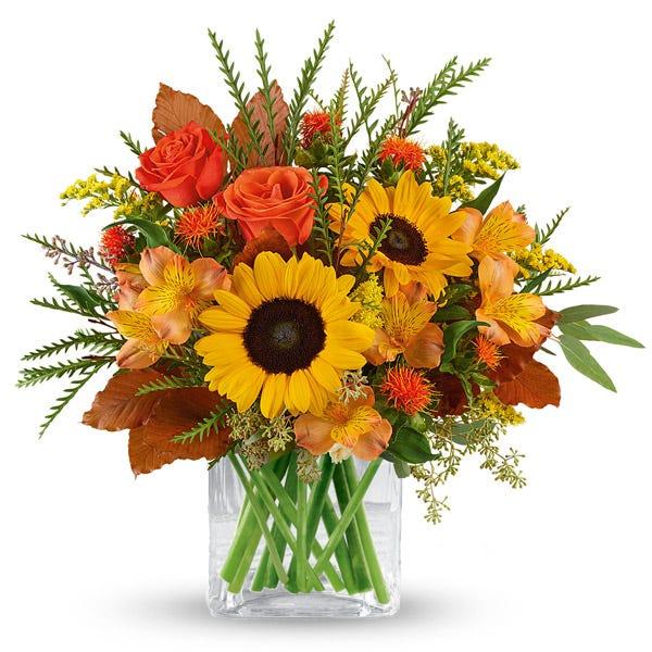Flourishing Harvest Sunflower Bouquet