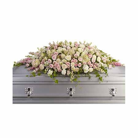 White standing spray at send flowers who has cheap funeral flowers