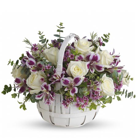Best flowers to give teachers white rose arrangement for teachers appreciation day