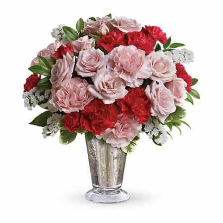Buy pink roses and cheap flowers online at send flowers com