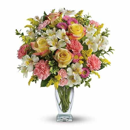 Mixed bouquet, you can order flowers online using sendflowers.com coupon