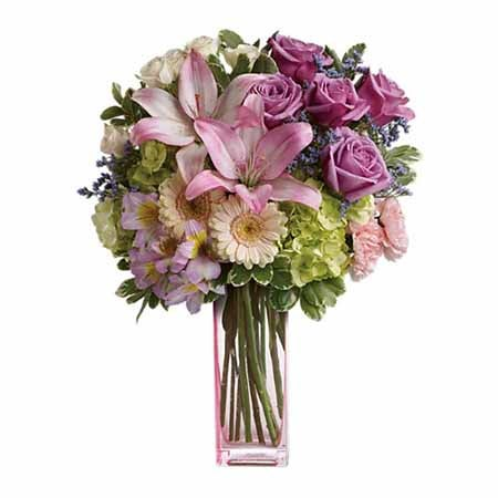 Pastel flowers bouquet of flowers online with free delivery flowers