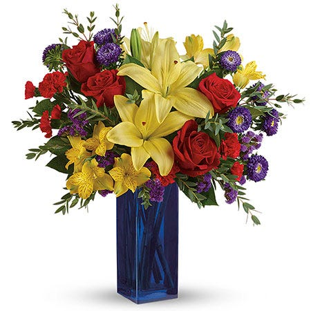 Symphony Of Color Bouquet