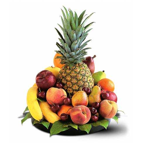 Pineapple fruit basket delivery for fathers day gift baskets free shipping