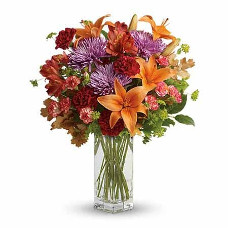 Send flowers selling orange bouquets with same day flower delivery