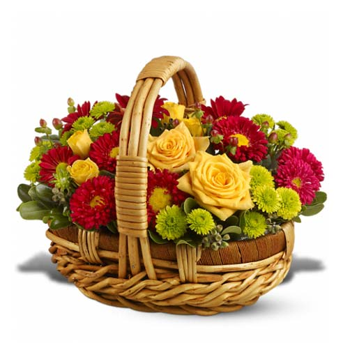 Flower Basket of Sunshine