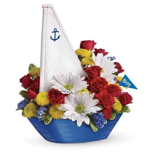 Memorial day flowers for sailors