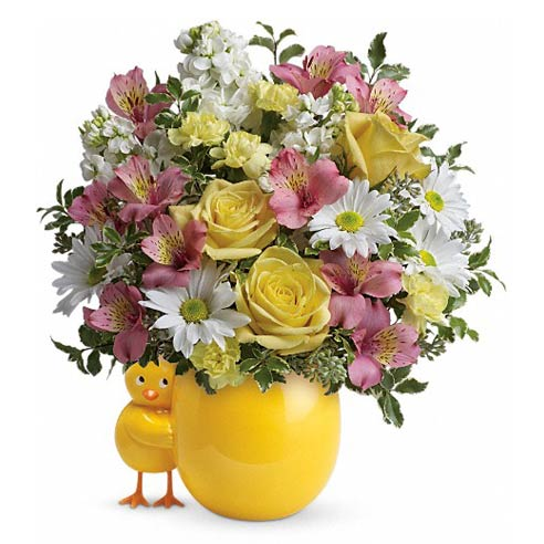Baby girl flowers and baby bouquets for flower delivery at send flowers