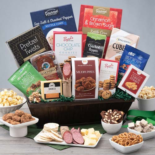 Endless Sweet and Savory Gourmet Basket