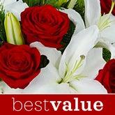 Christmas Flower Bouquet - Florist Designed