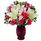 Delightfully Pink Floral Arrangement