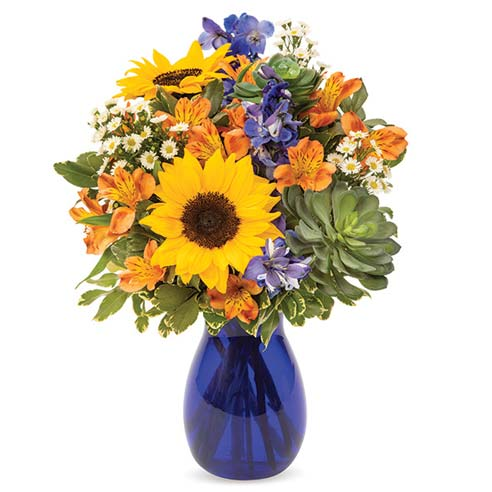 Ocean Breeze Fall Bouquet