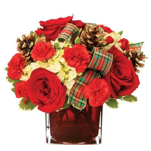 Rosy Christmas Wish Bouquet