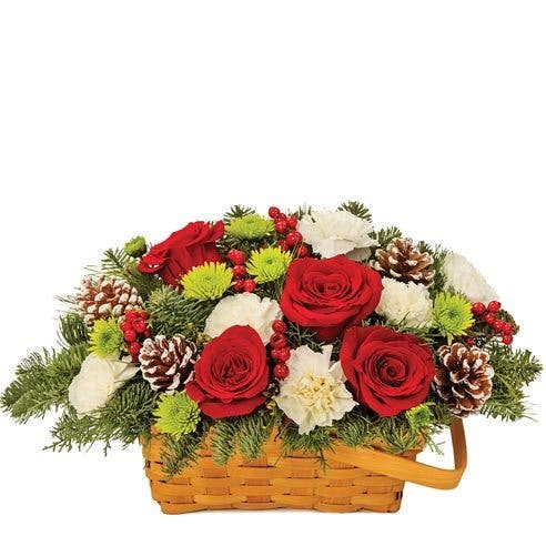 Warm Hearts and Hearths Basket