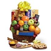 Fresh Fruit and Snacks Gift Basket