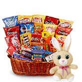 Sweet and Salty Easter Treat Basket