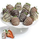 One Dozen Chocolate Covered Strawberries