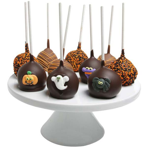 Spooky Halloween Cake Pops