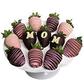 Love Mom Chocolate Covered Strawberries