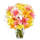 Stunning Lily Bouquet - Premium