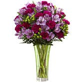 Purple Peruvian Lily Bouquet
