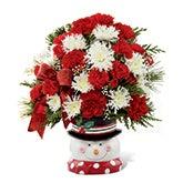 The Perfect Snowman Bouquet