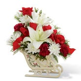 Winter Sleigh Ride Bouquet