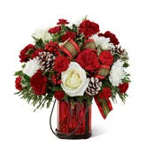 Warm & Cozy Holiday Wishes Bouquet