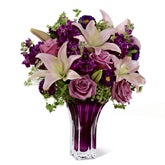 Purple Flowers Rhapsody Bouquet
