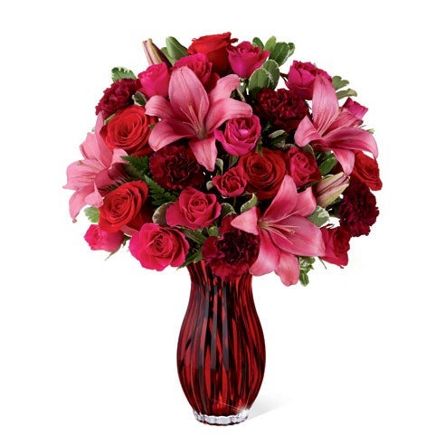 Pink & Red Romance Bouquet