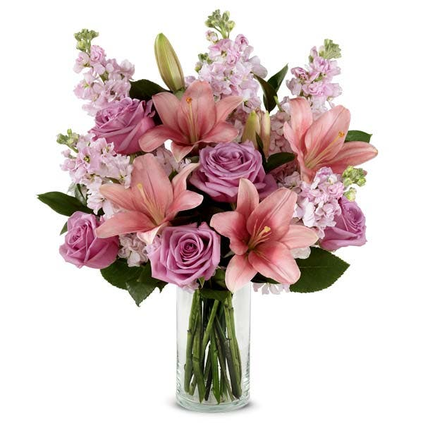 Wishful Pink Lily Bouquet