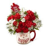 Believe Santa Christmas Bouquet
