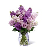 Lush Rose Lavender Bouquet