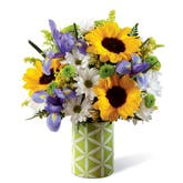 Good Morning Spring Sunflower Bouquet