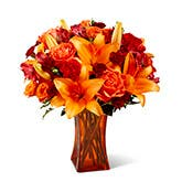Orange Days Flower Bouquet