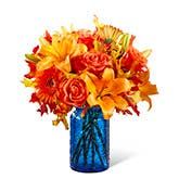 Harvest Orange Flowers Bouquet