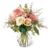 Gentle Pale Rose Bouquet